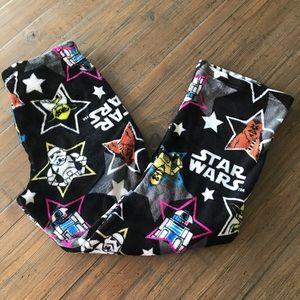 Star Wars size S fuzzy pajama lounge pants